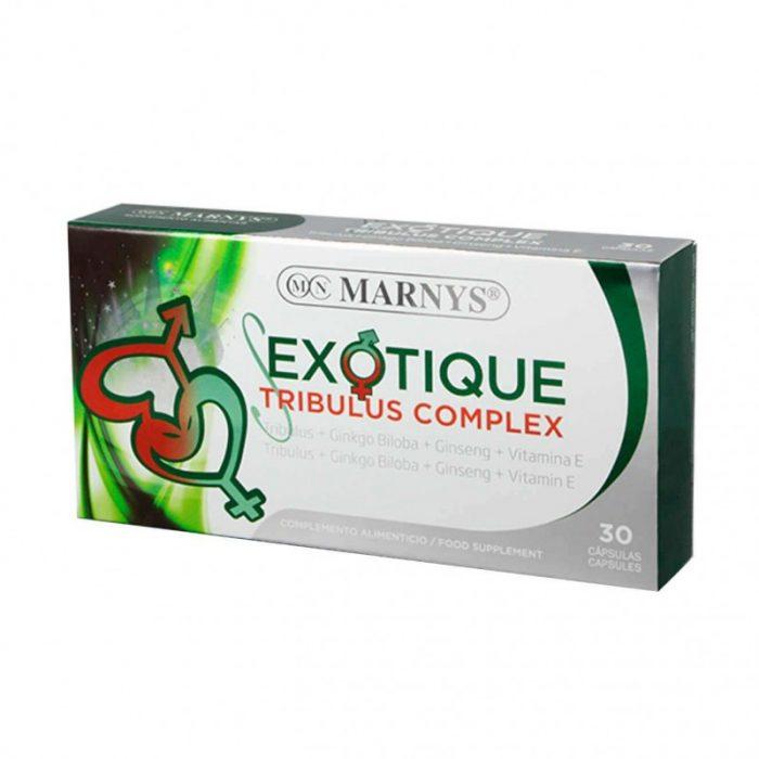 Exotique tribulus complex 30 cápsulas. Marnys