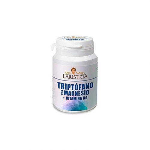 Triptófano + magnesio + vitamina B6 60 comprimidos 51 gr. Ana María Lajusticia