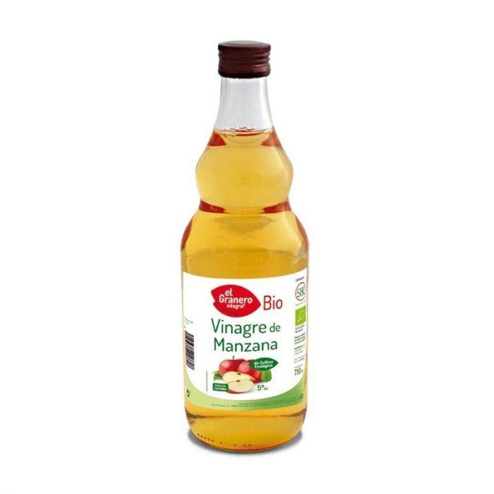 Vinagre de manzana bio 750 ml. El Granero