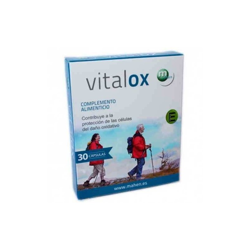 Vitalox 30 cápsulas. Mahen