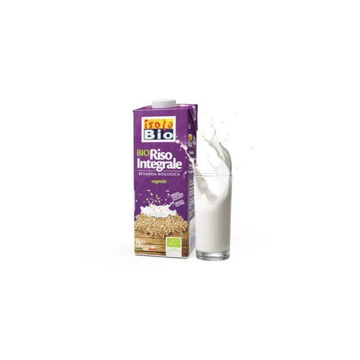 Bebida de arroz integral bio 1L. Isola Bio