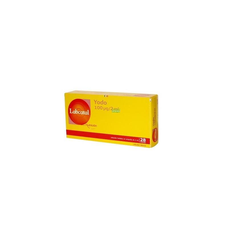 Yodo 28 ampollas 100 mg. Labcatal