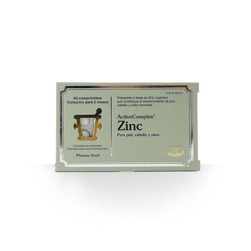 Zinc Active Complex 60 comprimidos. Pharma Nord