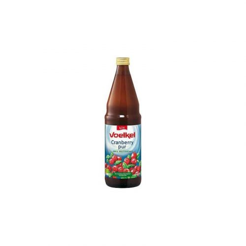 Zumo arándanos rojos bio 750 ml. Voelkel