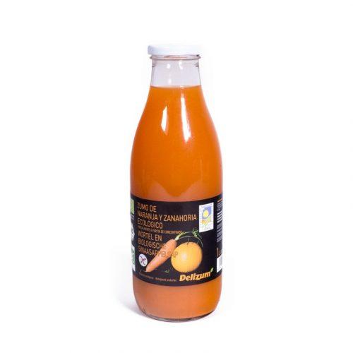Zumo de zanahoria y naranja 200 ml. Delizium