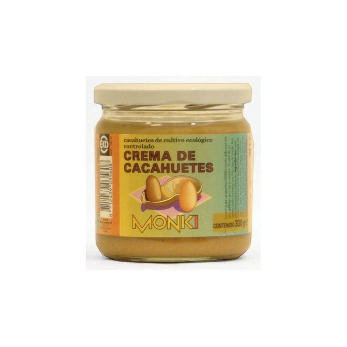 Crema de cacahuete 330 gr. Monki