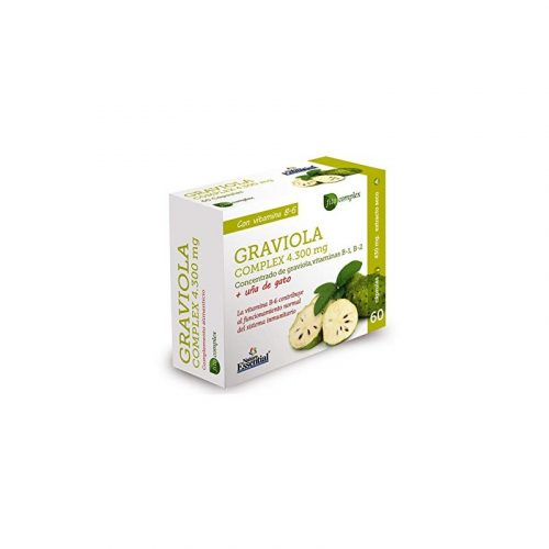 Graviola complex 4300 mg. 60 cápsulas. Nature Essential