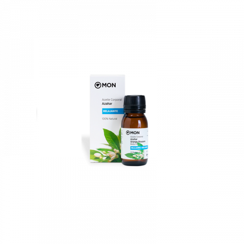Aceite corporal de azahar relajante 100 % natural 60 ml. Mon