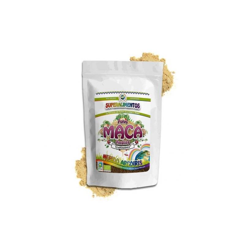 Maca andina en polvo 250 mg. Mundo Arcoiris