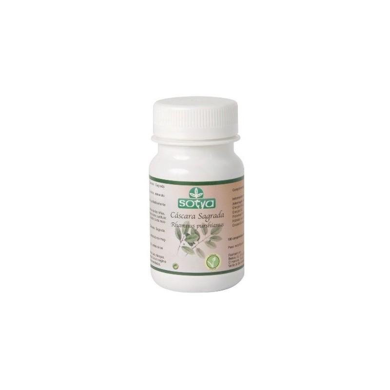 Cáscara sagrada 100 comprimidos 50 mg. Sotya